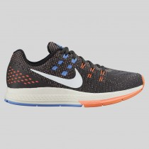 Damen & Herren - Nike Wmns Air Zoom Structure 19 Anthracite Sail Hyper Orange