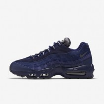 Nike Air Max 95 Essential Trainer - Loyal Blau/Lichtknochen/Dunkelgrau