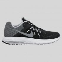 Damen & Herren - Nike Zoom Winflo 2 Flash Schwarz Spiegeln Silber