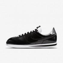Nike Cortez Basic Premium QS Sneaker - Schwarz/Weiß/Metallisches Silber