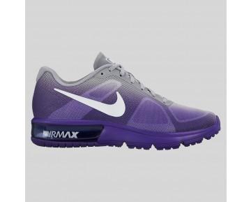 Damen & Herren - Nike Wmns Air Max Sequent Force lila Wolf Grau Fade