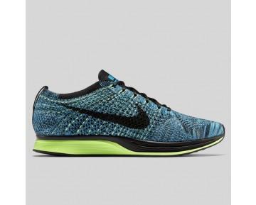 Damen & Herren - Nike Flyknit Racer Blau Lagune