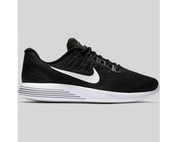 Damen & Herren - Nike Lunarglide 8 Schwarz Weiß Anthracite