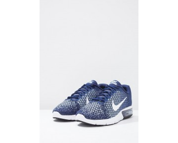 Nike Performance Air Max Sequent 2 Schuhe Low NIKl025-Blau