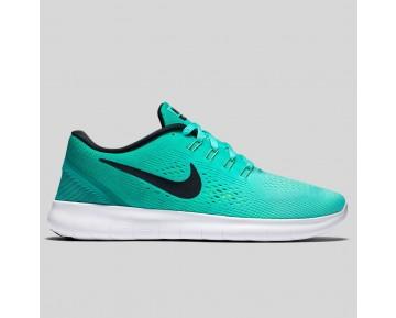 Damen & Herren - Nike Wmns Free RN Hyper Turquoise Schwarz Rio Teal