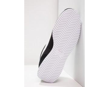 Nike Cortez Basic Nylon Prem Schuhe Low NIKo0aq-Schwarz