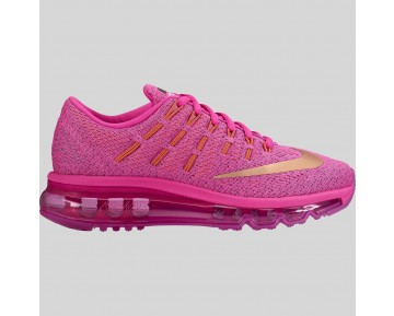 Damen & Herren - Nike Air Max 2016 (GS) Fire Pink Metallisch Rote Bronze