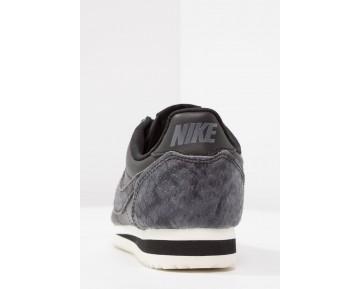 Nike Classic Cortez Prm Schuhe Low NIKlys5-Schwarz