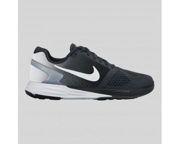 Damen & Herren - Nike Lunarglide 7 (GS) Schwarz Metallisch Silber Wolf Grau