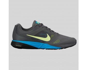 Damen & Herren - Nike Tri Fusion Run MSL Dunkel Grau Volt Blau Lagune