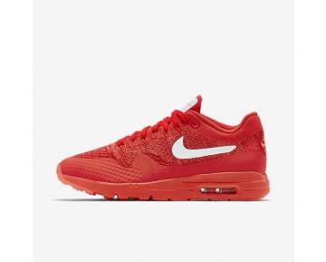 Nike Air Max 1 Ultra Flyknit Sneaker - Helles Purpur/Universität Rot/Helle Mango/Weiß