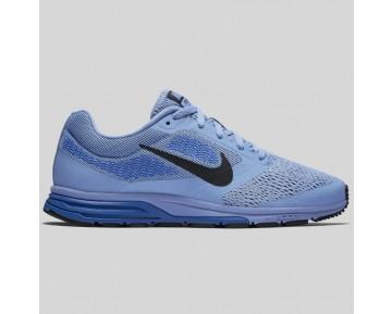 Damen & Herren - Nike Wmns Air Zoom Fly 2 Chalk Blau Schwarz Racer Blau