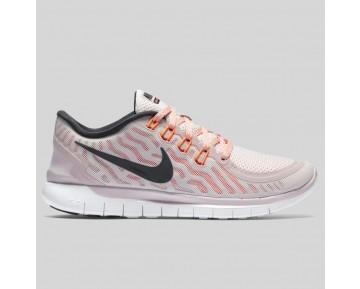 Damen & Herren - Nike Wmns Free 5.0 Violet Ash Schwarz Hyper Orange
