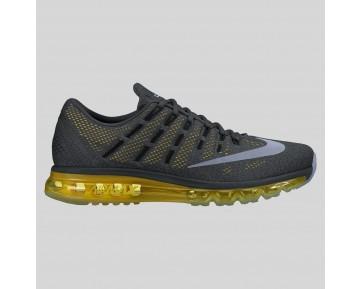 Damen & Herren - Nike Air Max 2016 Anthracite Spiegeln Silber Option Gelb