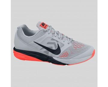 Damen & Herren - Nike Tri Fusion Run MSL Wolf Grau Schwarz Hyper Orange