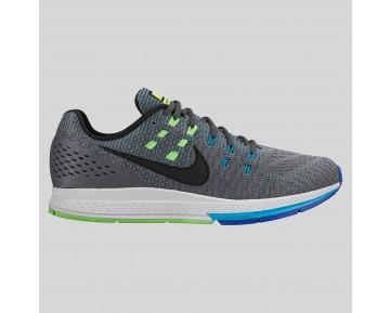 Damen & Herren - Nike Air Zoom Structure 19 Dunkel Grau Schwarz Blau Lagune Volt