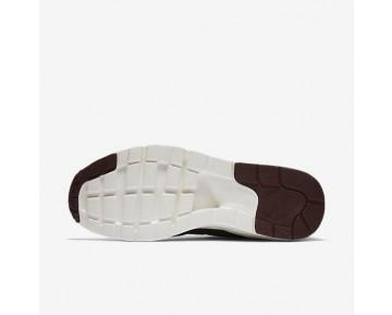 Nike Air Max 1 Ultra Premium Jacquard Trainer - Metallischer Mahagoni/Dunkles Cayenne/Elfenbein/Nacht Kastanienbraun