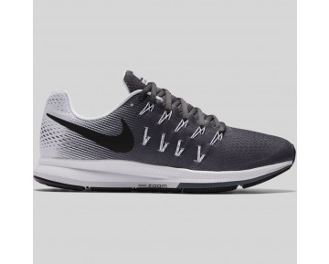 Damen & Herren - Nike Air Zoom Pegasus 33 Dunkel Grau Schwarz Weiß