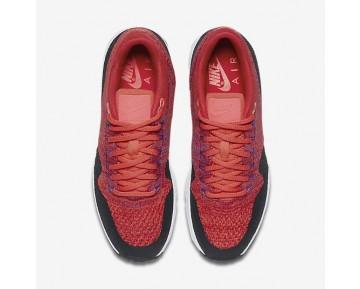 Nike Air Max 1 Ultra Flyknit Schuhe - Universität Rot/Helles Purpur/Schwarz