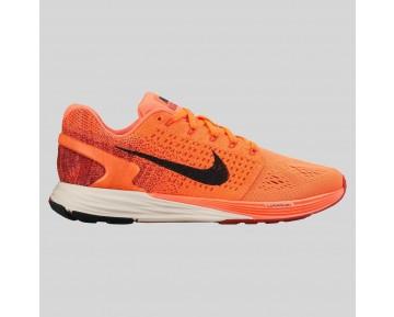 Damen & Herren - Nike Wmns Lunarglide 7 Hyper Orange Schwarz Universität Rote