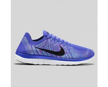 Damen & Herren - Nike Wmns Free 4.0 Flyknit Persian Violet Hyper Jade