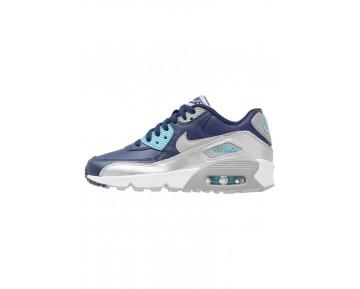 Nike Air Max 90 Schuhe Low NIKlcqp-Blau