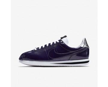 Nike Cortez Basic Premium QS Sneaker - Tinte/Weiß/Metallisches Silber