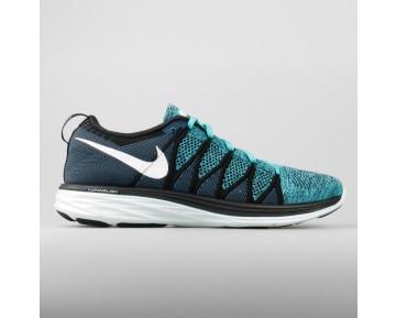 Damen & Herren - Nike Flyknit Lunar2 Schwarz Sport Turquoise