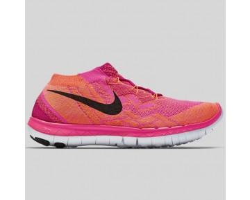 Damen & Herren - Nike Wmns Free 3.0 Flyknit Fireberry Schwarz Pink Pow