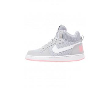 Nike Court Borough Schuhe High NIKh09w-Grau