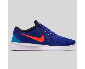 Damen & Herren - Nike Free RN Concord Total Karmesinrot Weiß