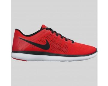 Damen & Herren - Nike Flex 2016 RN Univeristy Rote Schwarz Weiß