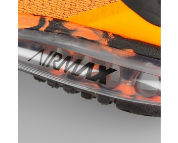 Damen & Herren - Nike Air Max 2015 Premium Total Orange Schwarz