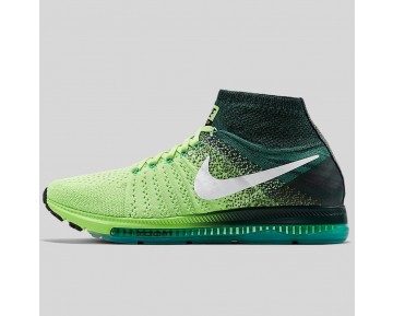 Damen & Herren - Nike Zoom All Out Flyknit Geist Grün Weiß Anthracite