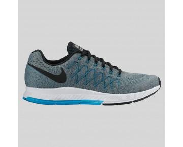 Damen & Herren - Nike Air Zoom Pegasus 32 Cool Grau Schwarz Blau Lagune
