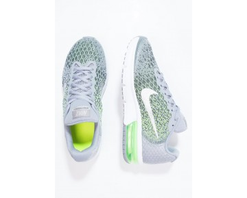 Nike Performance Air Max Sequent 2 Schuhe Low NIK83jm-Silver