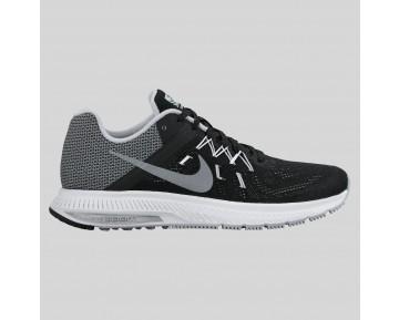 Damen & Herren - Nike Wmns Zoom Winflo 2 Flash Schwarz Spiegeln Silber