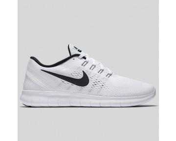 Damen & Herren - Nike Free RN Weiß Schwarz