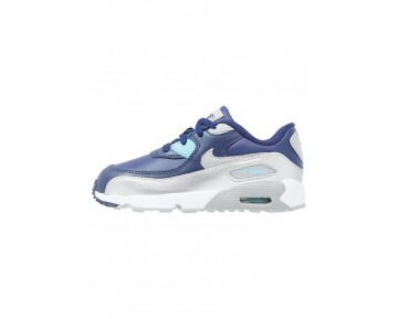 Nike Air Max 90 Schuhe Low NIKv7y2-Blau