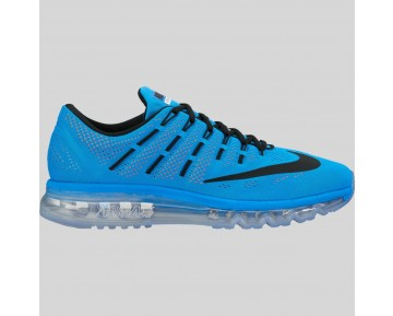 Damen & Herren - Nike Air Max 2016 Foto Blau Schwarz Total Orange