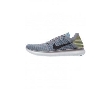 Nike Performance Free Run Flyknit Schuhe Low NIK7cny-Grau