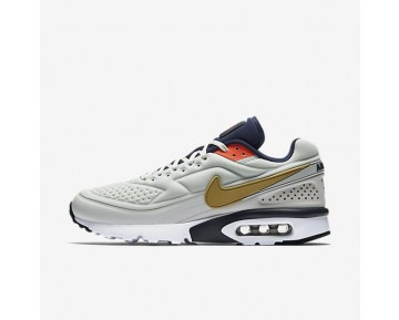 Nike Air Max 1 BW Ultra SE Sneaker - Reines Platin/Mitternachts/Marine/Metallisches Gold