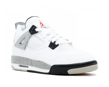 "Nike Air Jordan 4 Retro OG BG (GS) "";White Cement 2016 Release""; Sneaker-Damen"