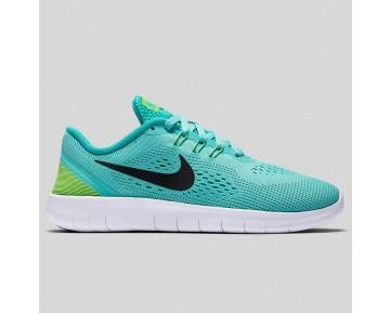 Damen & Herren - Nike Free RN (GS) Hyper Turquoise Schwarz Clear Jade