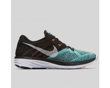 Damen & Herren - Nike Wmns Flyknit Lunar3 Schwarz Light Retro Lava Glühen