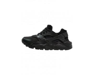Nike Huarache Run Schuhe Low NIK81w2-Schwarz