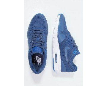 Nike Air Max 1 Ultra Moire Schuhe Low NIK0zu8-Blau