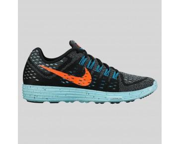 Damen & Herren - Nike Wmns Lunartempo Schwarz Hyper Orange Copa