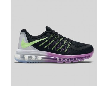 Damen & Herren - Nike Wmns Air Max 2015 Schwarz Flash Lime Fuchsia Glühen