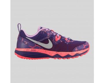 Damen & Herren - Nike Dual Fusion Trail Lava (GS) Court lila Metallisch Silber Hot Lava